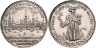Silbermedaille (Chronogramm) 1708 Polen - ...
