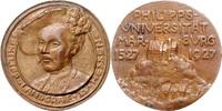 Bronzemedaille 1927 Hessen-Kassel a.d. 400...