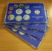 Kursmünzensatz 4 x 12,68 DM 1981 D,F,G, Bu...