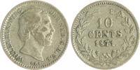10 Cents 1871 Niederlande Willem III. 1849...