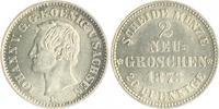 2 Neugroschen 1871 Sachsen Johann 1854-187...