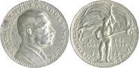 Silbermedaille, mattiert 1933 von Karl Goe...