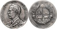 Bronzemedaille, versilbert 1911 Uruguay a....