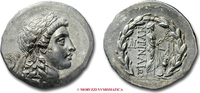 Tetradrachm / Tetradrachme II-I cent.  Aeo...
