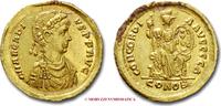 Solidus 388-392 A.D Roman Empire / RÖMISCH...