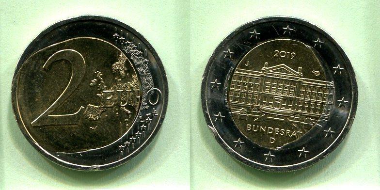 2 euro bundesrat 2020