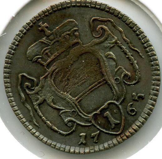 Pfennig 1765 Rdr Römisch Deutsches Reich Maria Theresia Ttb