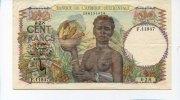 100 Francs, 1951, Französisch West-Afrika,  III,  75,00 EUR  +  7,00 EUR shipping