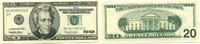 20 Dollars 1999 USA,  Unc