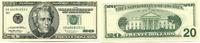 20 Dollars 1996 USA,  Unc