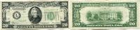 20 Dollars 1934C USA,  III