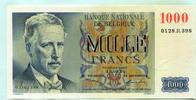 1000 Francs 1950 Belgien,  I