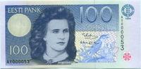 100 Krooni 1994 Estland,  I
