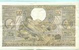 100 Francs/20 Belgas 1943 Belgien, 5 Stück...