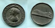 Zn.Medaille 1851 Großbritannien, Weltauste...