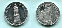 Aluminium Medaille 1899 Frankfurt, 150.Geb...