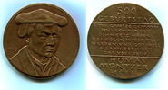 Br.Medaille 1989 DDR, Thomas Müntzer 500. ...