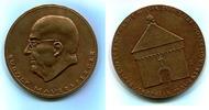 Br.Medaille 1989 DDR, Rudolf Mauersberger ...