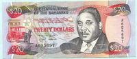 20 Dollars 1974(1993) Bahamas,  II