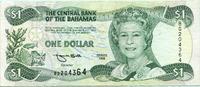 1 Dollar 1996 Bahamas,  III