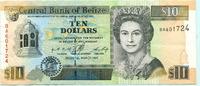 10 Dollars 1996 Belize,  III
