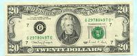 20 Dollars 1990 USA,  I-