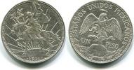 1 Peso 1911 Mexiko,  ss/vz