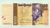 1000 Escudos 18.04.1996 Portugal,  III  9,50 EUR  +  7,00 EUR shipping
