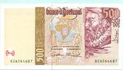 500 Escudos 07.11.2000 Portugal,  Unc  7,50 EUR  +  7,00 EUR shipping