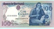 100 Escudos 24.02.1981 Portugal,  Unc  15,00 EUR  +  7,00 EUR shipping