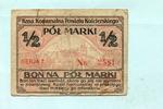 1/2 Marki o.J. Polen, Berent/Wpr., III-  19,50 EUR  +  7,00 EUR shipping