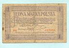 1 Marka 1919 Polen,  gebraucht  4,00 EUR  +  7,00 EUR shipping