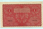 1 Marka 1919 Polen,  III  4,00 EUR  +  7,00 EUR shipping