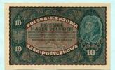 10 Marek 1919 Polen,  I-  12,00 EUR  +  7,00 EUR shipping
