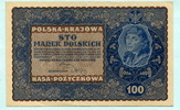 100 Marek 1919 Polen,  III+  12,00 EUR  +  7,00 EUR shipping
