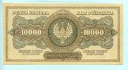 10000 Marek 1922 Polen,  I-  80,00 EUR  +  7,00 EUR shipping