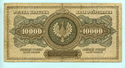 10000 Marek 1922 Polen,  III  19,50 EUR  +  7,00 EUR shipping
