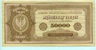 50000 Marek 1922 Polen,  II  39,50 EUR  +  7,00 EUR shipping