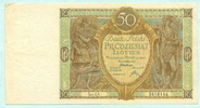 50 Zlotych 1929 Polen,  II  14,00 EUR  +  7,00 EUR shipping