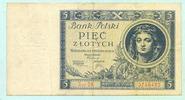 5 Zlotych 1930 Polen,  III  4,00 EUR  +  7,00 EUR shipping