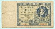 5 Zlotych 1930 Polen,  stark gebraucht  2,00 EUR  +  7,00 EUR shipping