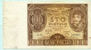 100 Zlotych 1934 Polen,  III  6,00 EUR  +  7,00 EUR shipping
