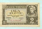 2 Zlote 1936 Polen,  III  6,00 EUR  +  7,00 EUR shipping