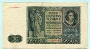 50 Zlotych 1941 Polen,  III  4,00 EUR  +  7,00 EUR shipping