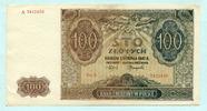 100 Zlotych 1941 Polen,  II-III  6,00 EUR  +  7,00 EUR shipping