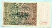 100 Zlotych 1941 Polen,  Unc  15,00 EUR  +  7,00 EUR shipping