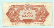 2 Zlote 1944 Polen,  III  15,00 EUR  +  7,00 EUR shipping