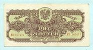 5 Zlotych 1944 Polen,  III+  28,00 EUR  +  7,00 EUR shipping