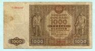 1000 Zlotych 1946 Polen,  IV  22,00 EUR  +  7,00 EUR shipping
