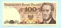 100 Zlotych 1.6.1986 Polen,  Unc  2,00 EUR  +  7,00 EUR shipping